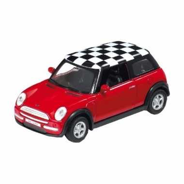 Mini cooper speelgoed modelauto 1:34