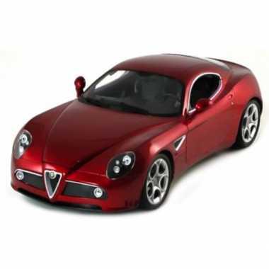 Modelauto alfa romeo c8 conpetizione rood metallic 1:32