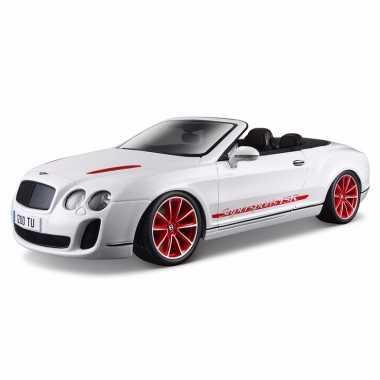 Modelauto bentley continental supersports cabrio 1:18