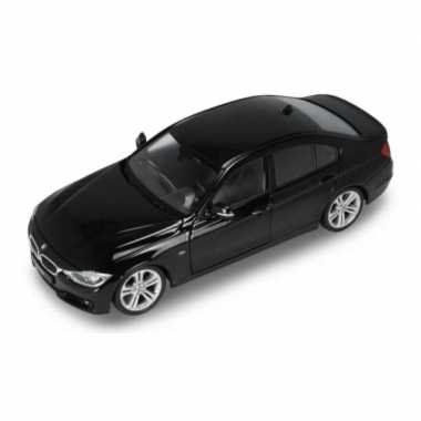 Modelauto bmw 335i 2014 zwart schaal 1:24/19 x 7 x 6 cm