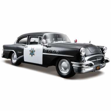 Modelauto buick century politieauto 1955 1:24