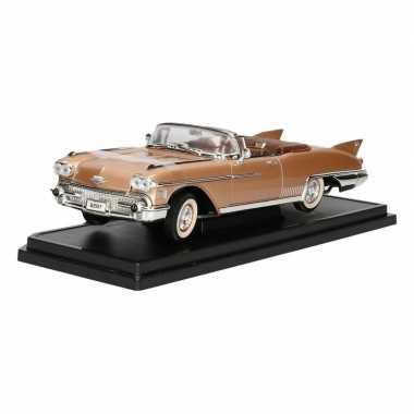 Modelauto cadillac eldorado biarritz cabrio 1958 1:18