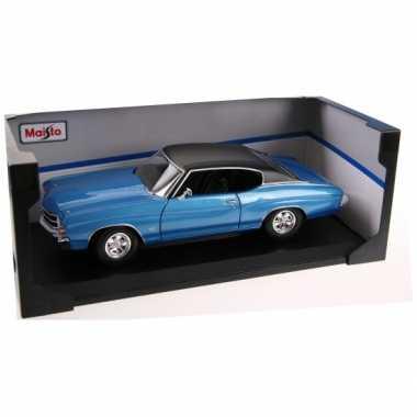 Modelauto chevrolet chevelle ss 454 1:18
