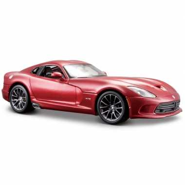 Modelauto dodge viper gts srt 2013 1:24