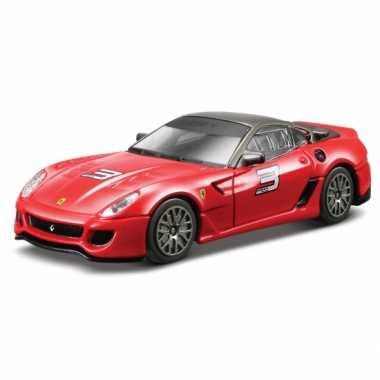 Modelauto ferrari 599 xx rood 1:43