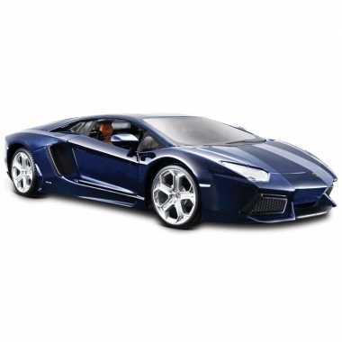 Modelauto lamborghini aventador 1:24