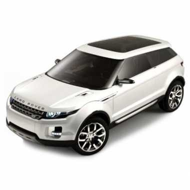 Modelauto land rover lrx wit 1:43