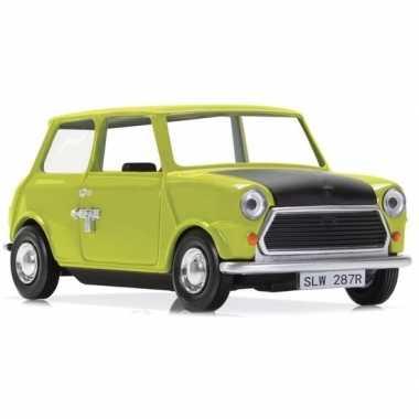Modelauto leyland mini mr bean 1:36