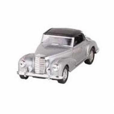 Modelauto mercedes-benz 300s auto zilver 11,6 cm