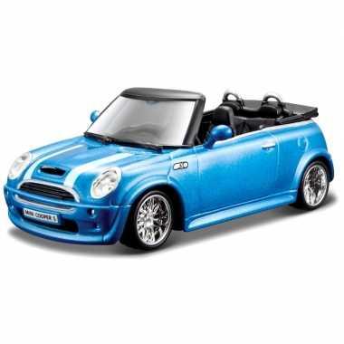 Modelauto mini cooper s cabriolet 1:32
