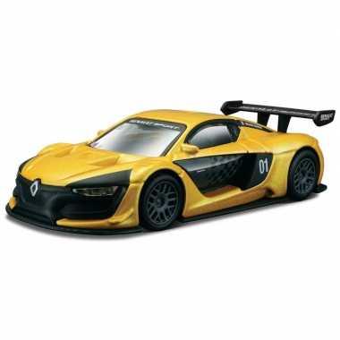 Modelauto renault sport r.s. 01 1:43