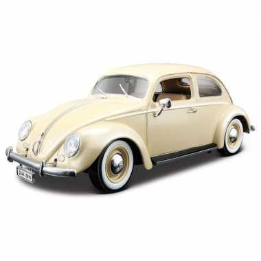 Modelauto volkswagen kever 1955 1:18
