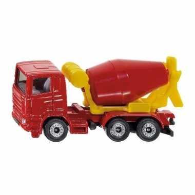 Siku cement mixer speelgoed modelauto 8 cm