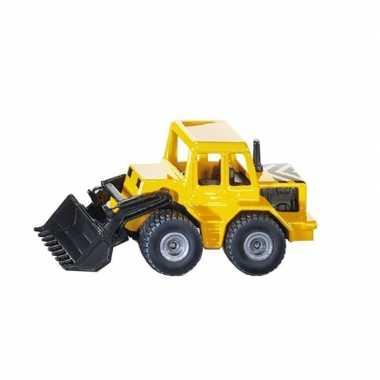 Siku speelgoed shovel modelauto 8 cm