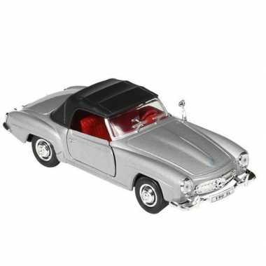 Speelgoed mercedes-benz 190sl 1955 modelauto dichte cabrio 15 cm
